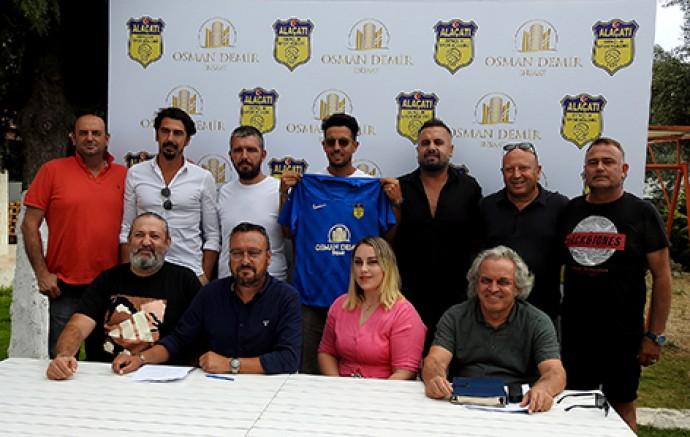 Alaçatıspor'a dev isim sponsoru