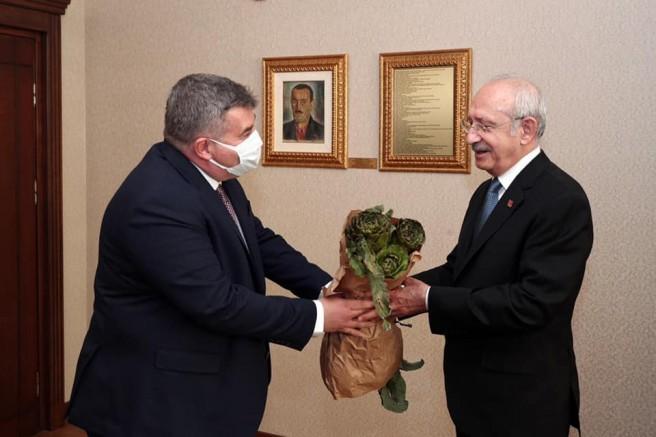Başkan Oran'dan yoğun Ankara mesaisi