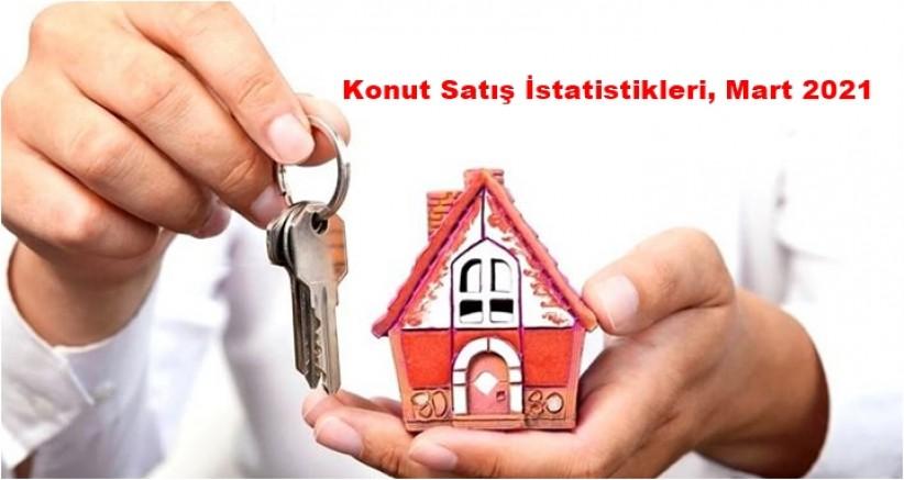 İzmir'de, Mart ayında 6 bin 636 konut satıldı